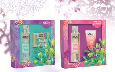 New Nature & Senteurs gift boxes
